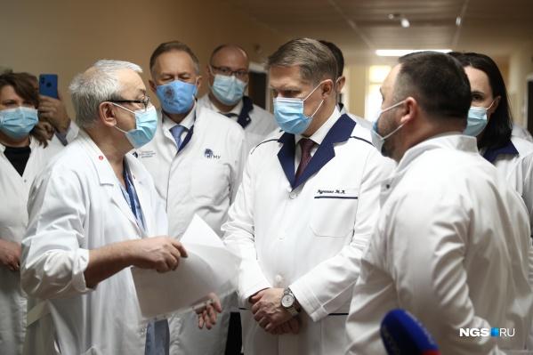 По словам министра, снижение заболеваемости отмечают последние несколько недель