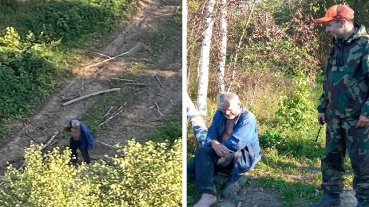 Встретил спасателей в одном сапоге: ярославец третий год подряд теряется в лесу