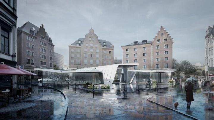 Студент СФУ придумал здание в форме ириса и стал одним из лучших на архитектурном конкурсе в Бельгии