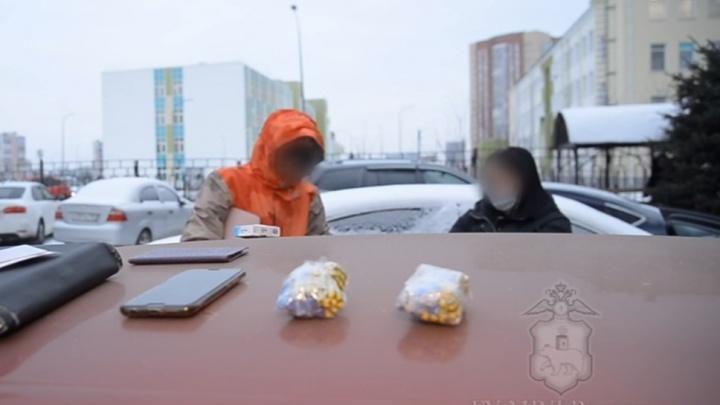 В Прикамье закладчик с крупной партией наркотиков пытался сбежать от полицейских. Видео