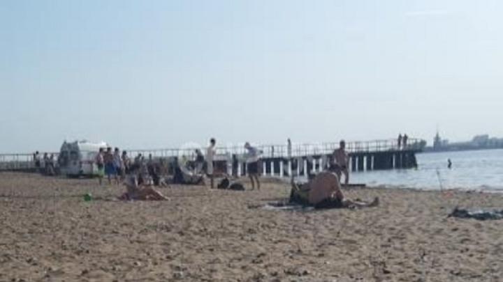 В Перми возле пляжа КамГЭС мужчина сломал позвоночник