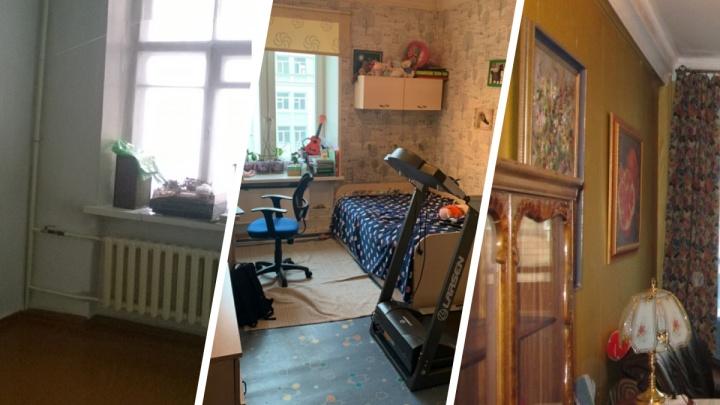 Высокие потолки, тепло и тихо: сколько просят владельцы «сталинок» в центре Красноярска за свои квартиры