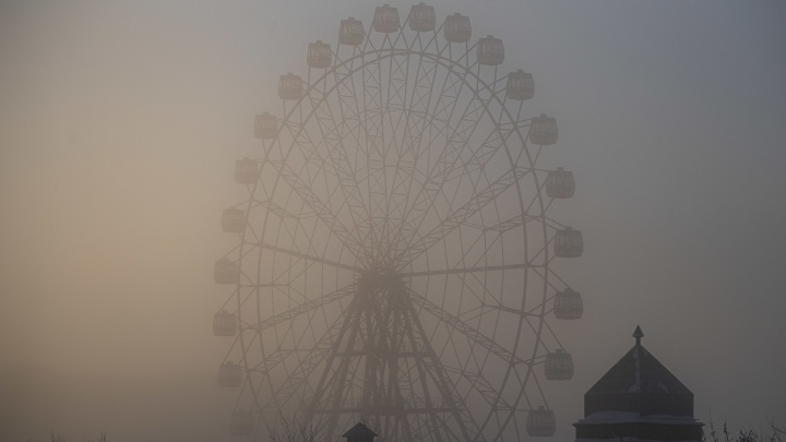 Уровень загрязнения воздуха в Новосибирске достиг 10баллов