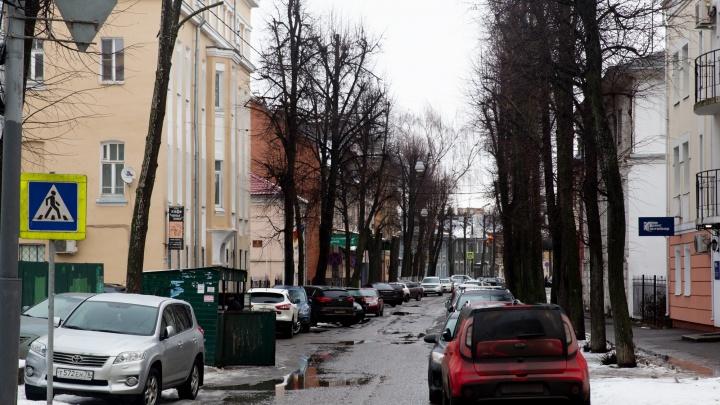 На улице в центре Ярославля введут одностороннее движение