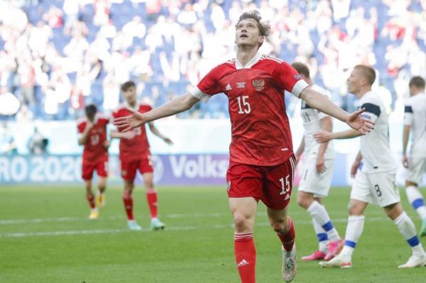 Алексей Миранчук был признан лучшим игроком матча против сборной Финляндии