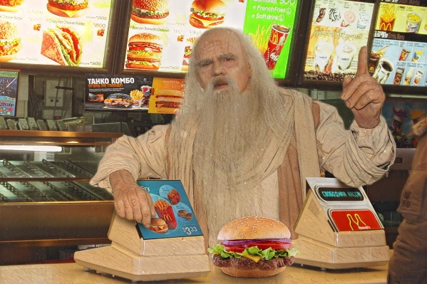 Поговаривают, самому «возрастному» гамбургеру больше 20 лет и он выглядит как новенький