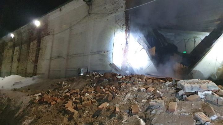 В Кузбассе ночью обрушился корпус школы