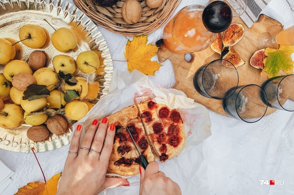 Осенью получаются очень красивые фотографии еды, но это не главное преимущество осеннего меню