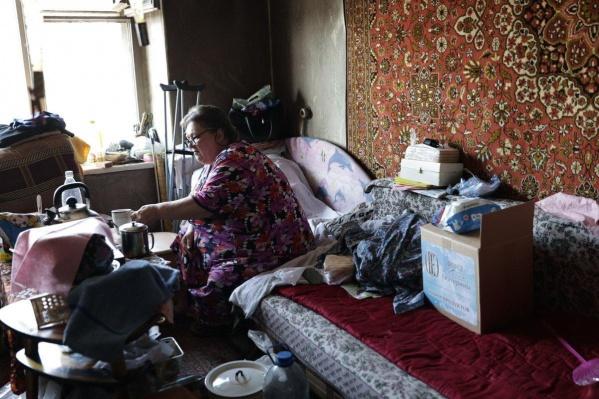 У женщины появился шанс переехать в нормальное жилье