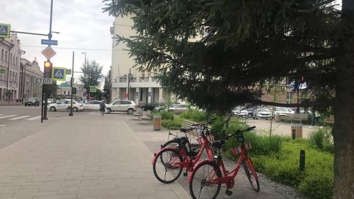 Новый шеринг зашел в Красноярск: тестируем бесконтактную аренду велосипедов