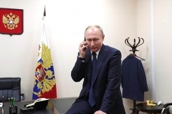 Владимир Путин ждет ваших обращений уже сейчас