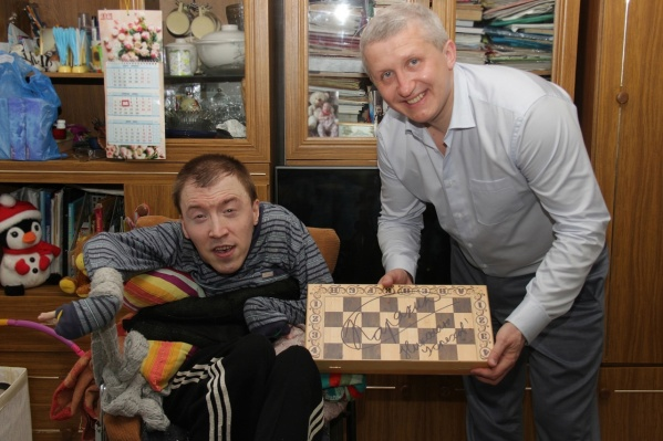Николай Грудинкин поменял свою шахматную доску