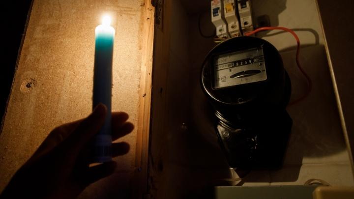 Тысячи жителей в четырех районах Волгограда останутся без света