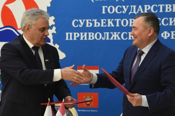 Встречарегиональных парламентов ПФО прошла в Мордовии