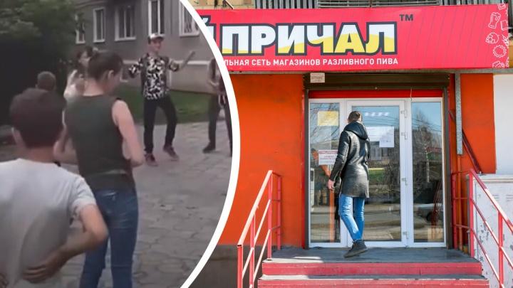 В полиции прокомментировали детский праздник у алкомаркета в Ачинске