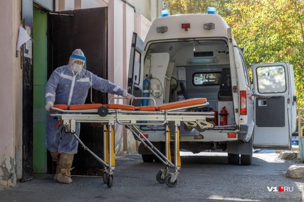 В Волгограде количество заболевших увеличивается с каждым днем на три сотни человек
