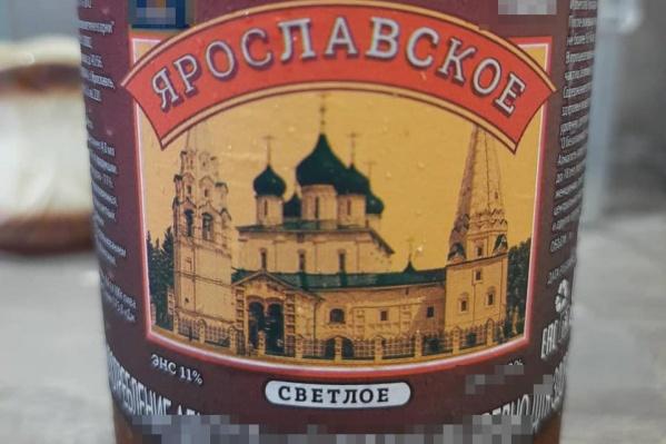 Изображение храма на пивной бутылке возмутило священника