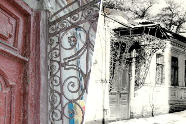 В доме сохранились внутренние ставни и дореволюционные межкомнатные двери с оригинальной фурнитурой
