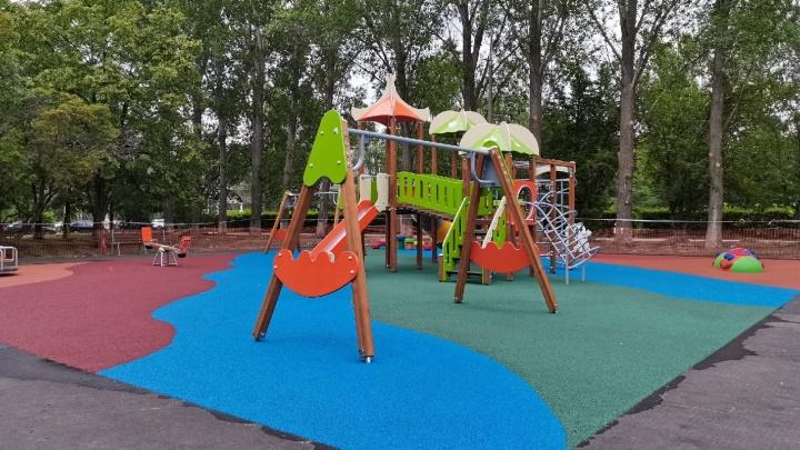 На бульваре Будённого в Автозаводском районе откроют игровую зону необычной расцветки
