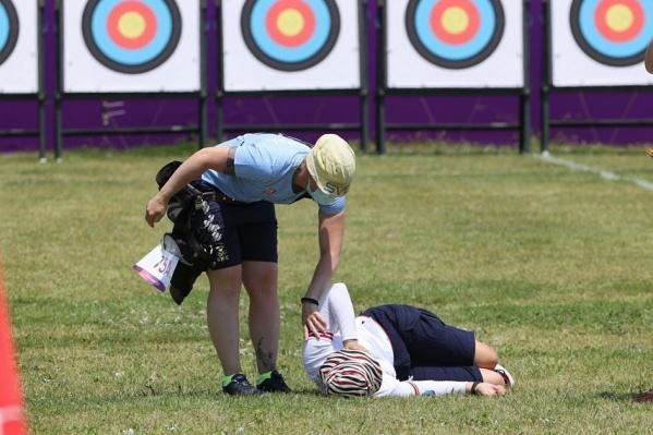 Светлана Гомбоева потеряла сознание во время квалификации по стрельбе из лука