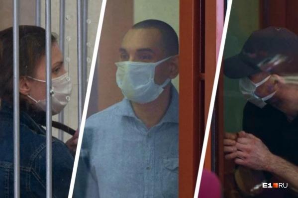 Всех троих — Екатерину Меньшикову, Михаила Федоровича и Марата Ахметвалиева (слева направо) — суд признал виновными в жестокой расправе над девушкой