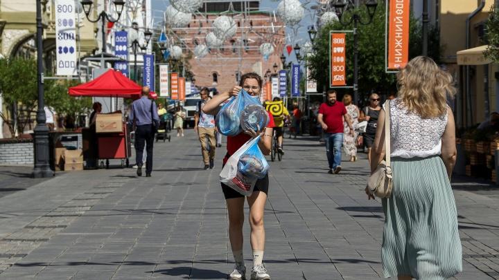 Большая Покровская снова ожила и зашумела. Посмотрите, как благоустроили главную пешеходную улицу Нижнего Новгорода