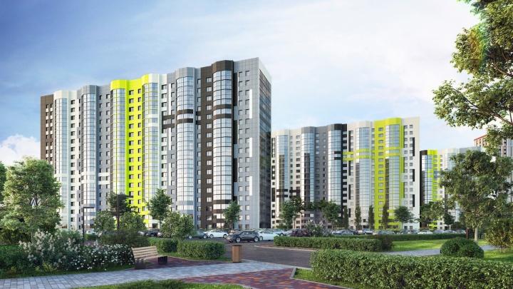 Яркая VESNA: в Новосибирске появилось доступное жилье рядом с центром