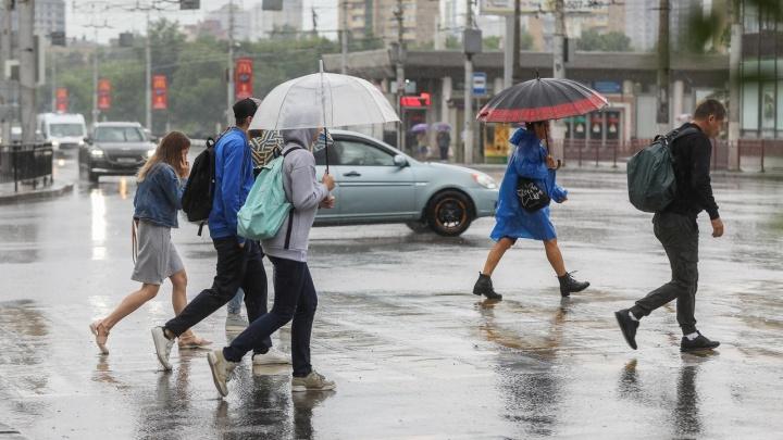 Лето отменяется: смотрим прогноз погоды в Волгограде до конца недели