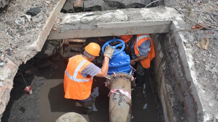 «Росводоканал Омск» приступил к санации водоводов