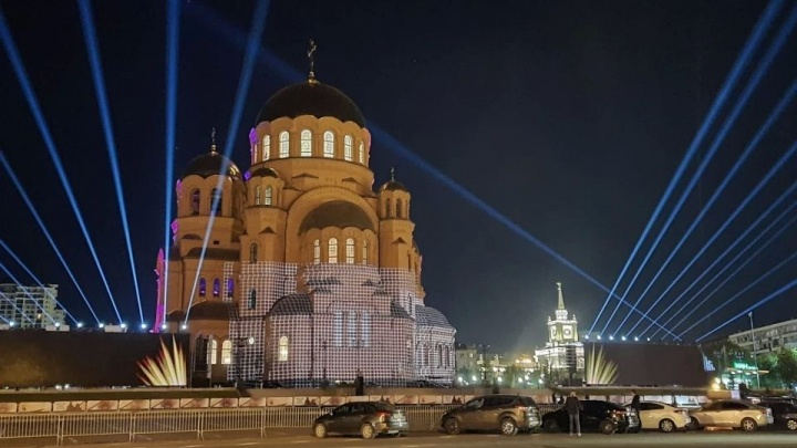 «Никакого глумления и цирка»: волгоградец о световом шоу на соборе Александра Невского