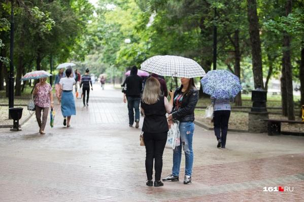 Дожди продлятся и на следующей неделе