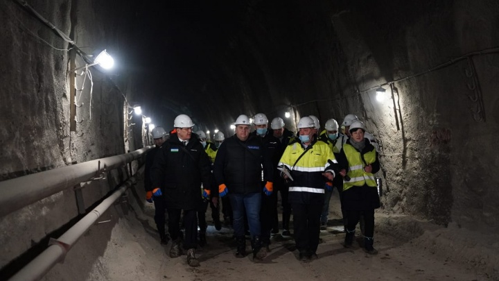 В Уфе пробили тоннель Восточного выезда