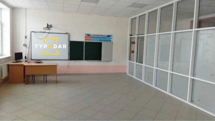 В краснодарской школе кабинет для третьеклассников оборудовали в коридоре