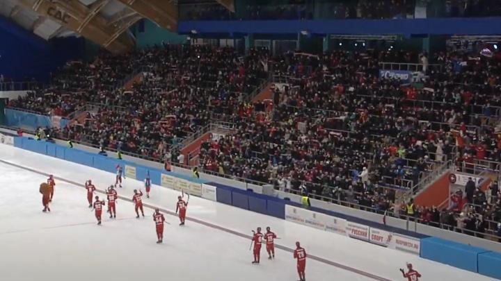 Мы в финале! «Енисей» разгромил «СКА-Нефтяник» в решающей игре полуфинала чемпионата России по бенди