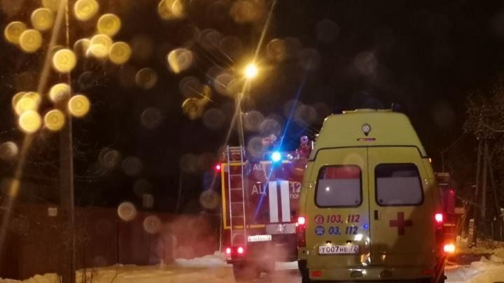 В ночном пожаре на Бабарынке погиб мужчина