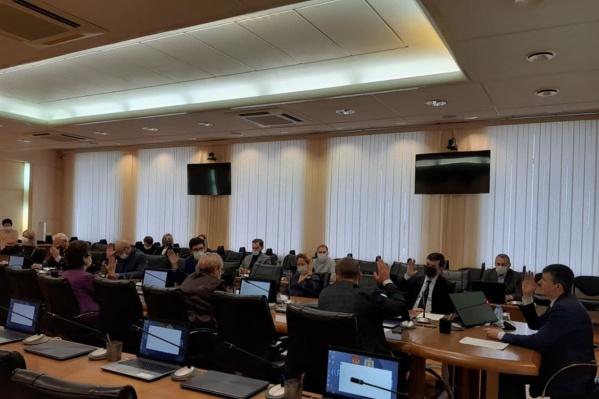 В избирательной комиссии озвучили список депутатов ЗС
