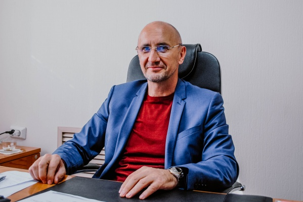 Анатолий Молодчик, ректорЮжно-Уральского технологического университета