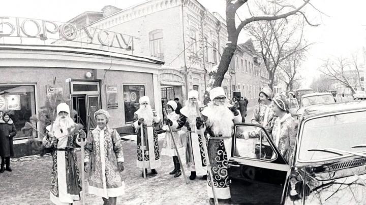 Почти полвека назад: самарские архивисты показали фото новогоднего «десанта»