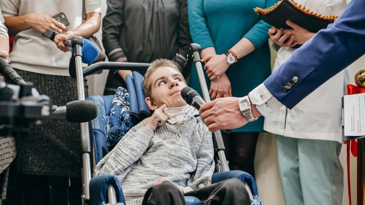 «Спасибо, что помогаете таким, как я»: в Екатеринбурге открылся первый детский хоспис