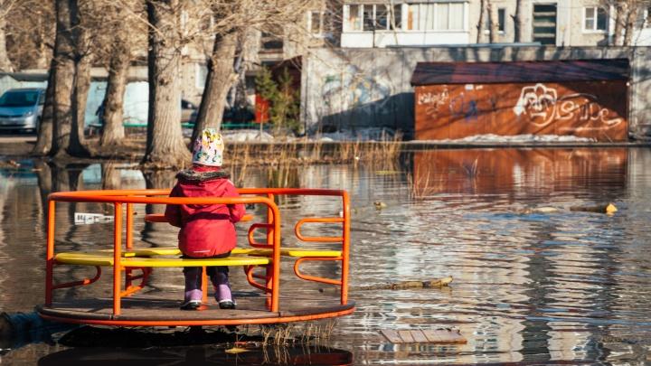 Море детских впечатлений: во дворе Центрального округа появился новый водоем