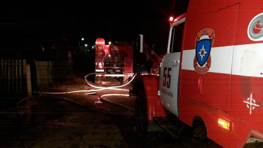 На Дону в частном доме сгорели три мальчика. Младшему было три года