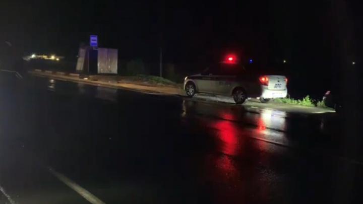 В Свердловской области водитель иномарки насмерть сбил 18-летнего велосипедиста, который ехал посередине дороги