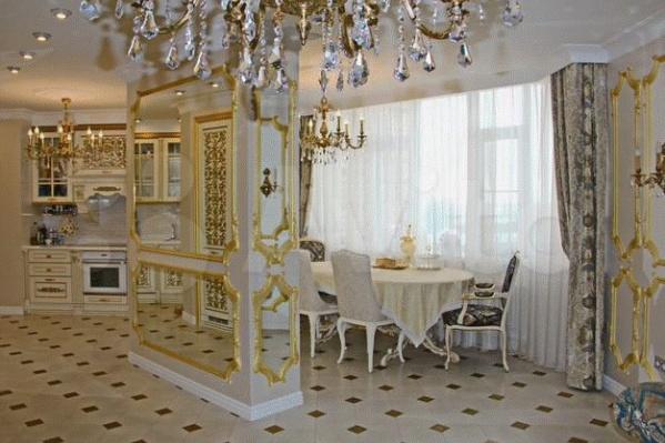 """Та самая """"золотая"""" квартира за 30 млн. Ее уже сняли с продажи"""