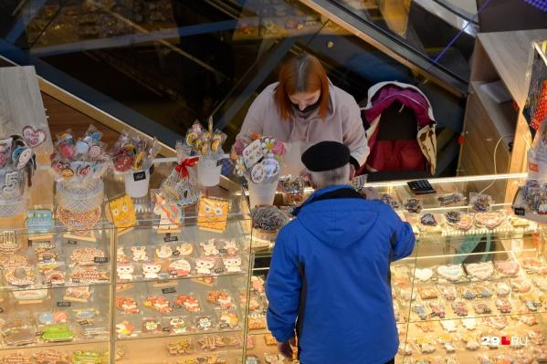 С мая 2020 года в сфере торговли Поморья выписали штрафов на 400 тысяч рублей за нарушения мер профилактики от вируса