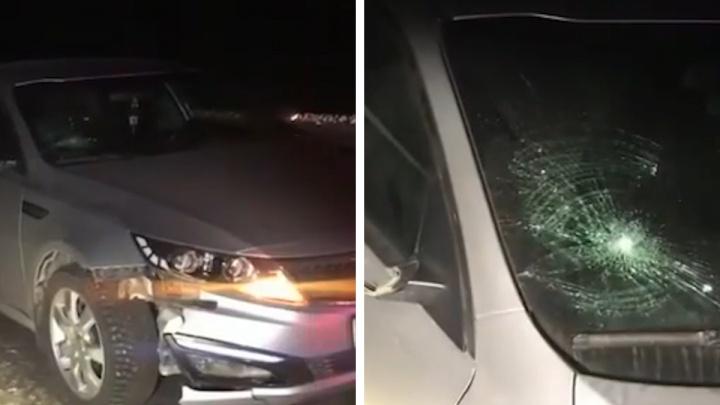 Водитель из Челябинской области насмерть сбил пешехода в Башкирии, уехал с места ДТП, а потом вернулся