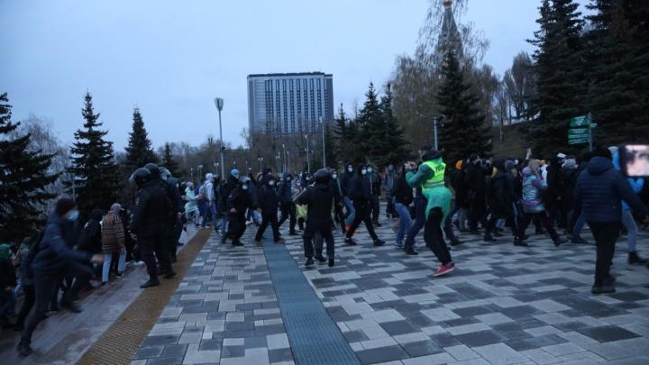 Названо число участников незаконных акций в Самаре и Тольятти