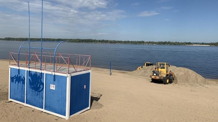Стало известно, когда на все официальные пляжи в Самаре завезут новый песок