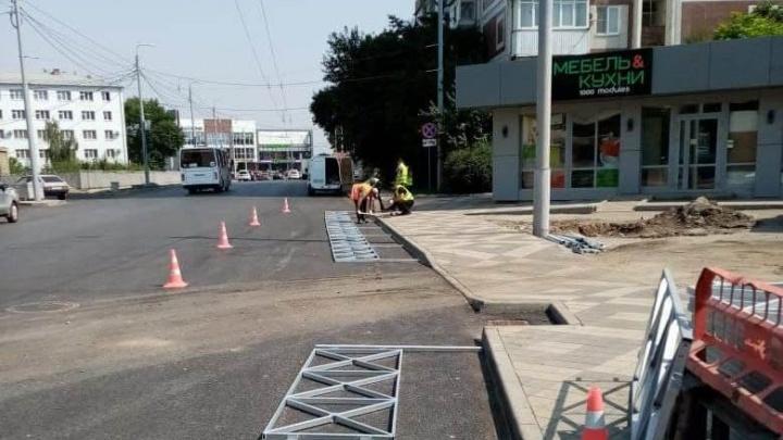 В Краснодаре полностью открыли движение по улице Благоева, которое было затруднено 5 месяцев