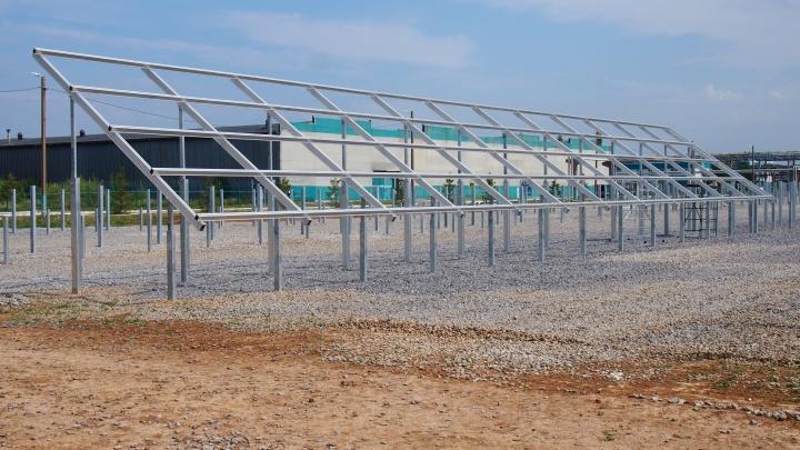 В Башкортостане солнечная электростанция на заводе «ПОЛИЭФ» реализована на треть