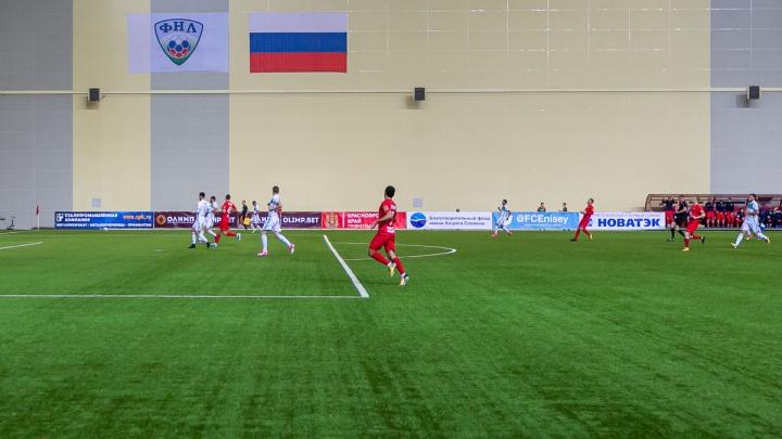 Министр спорта России пообещал создать условия для выхода футбольного «Енисея» в Премьер-лигу